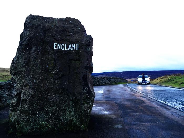 セルカークイングランド国境