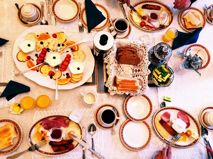 ダブリン朝食
